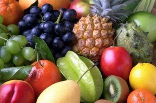 ein Haufen Obst