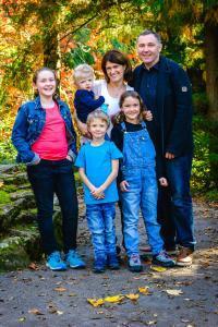 Heiko Roth mit seiner Familie